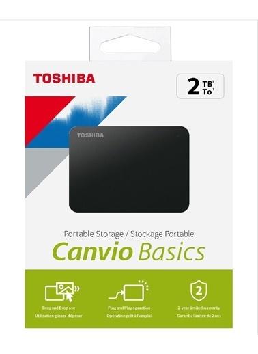 Toshiba Toshiba Harici Canvio 2Tb 2.5 Usb 3.2 Hdtb320Ek3Aa Siyah
